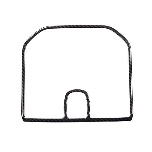Pour Discovery Sport Plastique Intérieur de luxe accessoire de fibre de carbone Tableau de bord Haut-parleur Cadre Bordure
