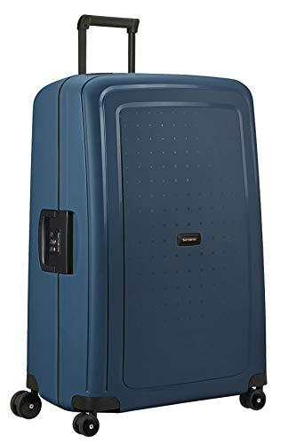 Samsonite S'Cure Eco - Spinner XL Koffer, 81 cm, 138 L, Blau (Navy Blue)