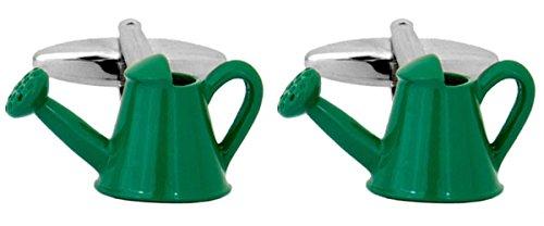Regadera, verde, rodio placa impío. Un gran par de mancuernas/Clip o accesorio Othet Iapyx... El regalo perfecto para alguien especial.