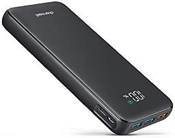 Charmast 23800mAh PD Power Bank USB C Draagbare Oplader met 18W Power Delivery LED Display Batterij Pack Compatibel met...