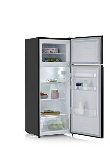 SEVERIN Doppeltür-Kühl-/Gefrierschrank DT 8762, 164 L/41 L, Energieeffizienzklasse A++, schwarz