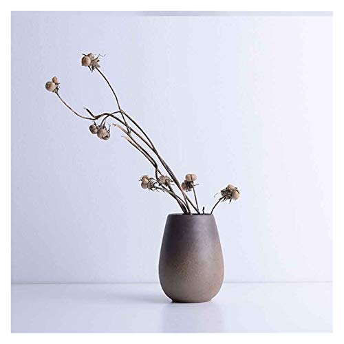 ZANZAN jarrones de cerámica jarrón de escritorio de diseño especial estilo decoración moderna florero para la decoración del hogar Salón decoración florero decoración