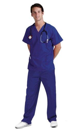 NCD Medical/Prestige Medical, Pantaloni per divisa sanitaria, Blu (cobalt), XS