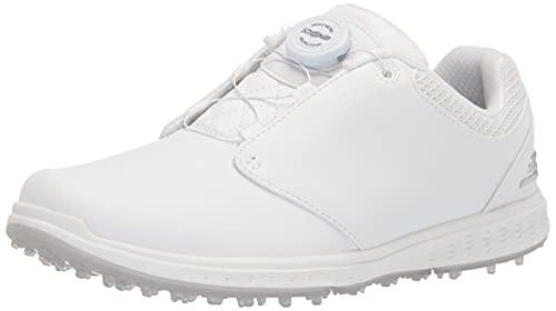 Skechers Damen Go Elite 3 Twist Golf Shoe Golfschuh, Weiß, 40 EU