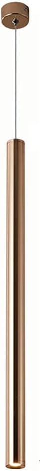 Mozeny Minimalist Pendant Light LED Chandelier Aluminu Tube Long Time Limited price sale