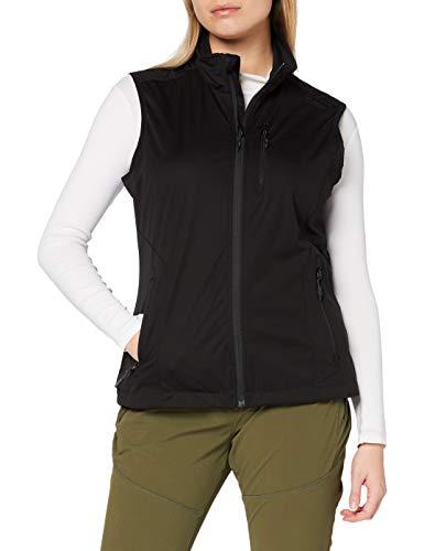 CMP Softshell Waterproof Vest Shell Jacket Femme, Black, 40