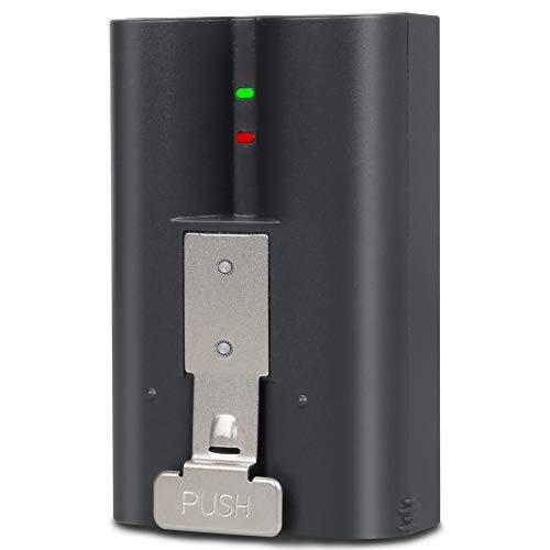Hixon Akku 6200mAh kompatibel with Ring Doorbell Akku, kompatibel für Ring Doorbell 2, für Ring Doorbell 3, Spotlight Cam Solar, Stick Up Cam Solar & Peephole Cam