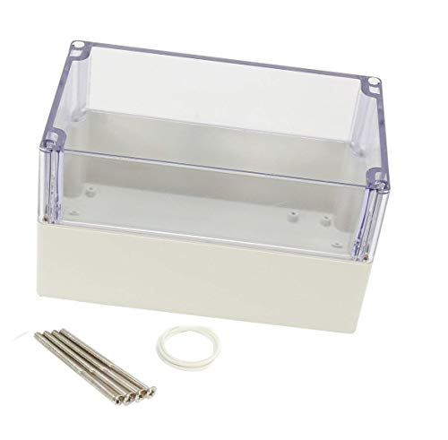 YXQ 200x120x113mm Junction Box Transparent Cover Waterproof ABS Project Enclosure Case