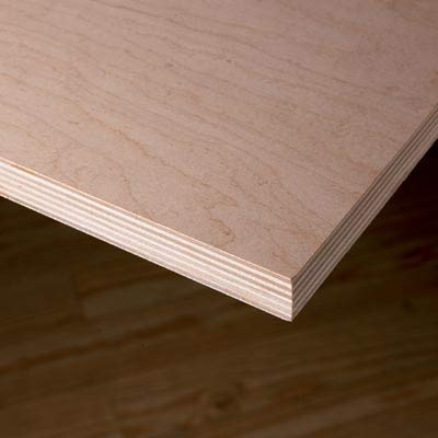 "18MM 3/4"" x 12"" x 24"" Premium Baltic Birch Plywood B/BB Grade Birch Veneer Sheets one Clear face"