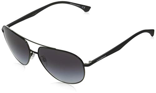 Gafas de Sol Emporio Armani EA 2096 Matte Black/Grey Shaded 60/14/140 hombre