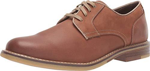 Dockers Mens Martin Leather Dress Casual Oxford Shoe, Tan, 12 M