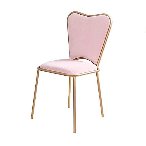 FYMDHB886 Eetstoel leunstoel Onderhandelingsstoel Strijkijzer bureaustoel Lichte enkele stoel Gouden textuur Koffiestoel Vergaderstoel Bankstel, Size, B