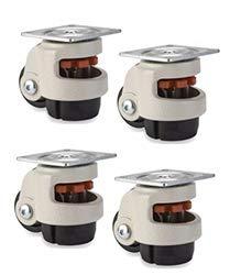 Köp hjul infällbar utjämningsmaskin hjul - 4-pack - 1,1 kg per uppsättning