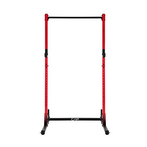 CAP Barbell Power Rack Exercise Stand, Red Now $82.93 (Was $168.88)