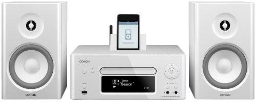 Denon N7 CEOL Kompaktanlage (Internetradio, Air Play, iPod-dock, USB 2.0) weiß