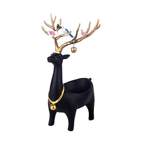 Decoratie opbergdoos Creatieve herten hars ambachten kunnen worden gebruikt voor woonkamer wijnkast kantoor veranda salontafel Sundries opslag, enz. Huisdecoratie 21x23x36cm Goud