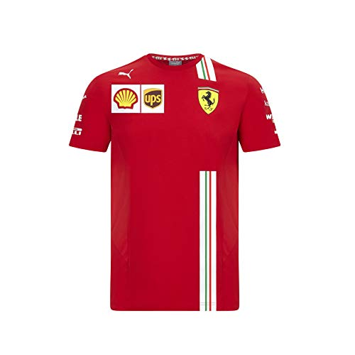 Official Formula One - Scuderia Ferrari 2020 Puma - Camiseta de Charles Leclerc - Size:M