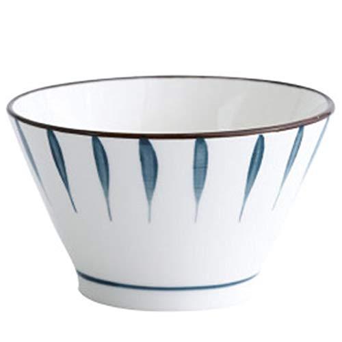 WYGC Ciotola Ceramica Ciotola di Riso Dipinto a Mano Mangiare Colazione Ciotola da Dessert 5 Pollici (Color : E)