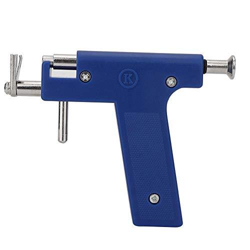 Ensemble d'outils de pistolet professionnel Piercing d'oreille Outil de perçage de corps indolore Outil de perçage de trou d'oreille nombril avec 98 goujons d'oreille et un paquet de Earnuts