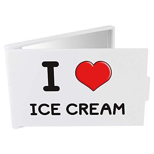 Azeeda 'I Love Ice Cream' Miroir Compact / de Poche (CM00000007)