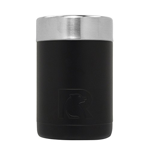 RTIC Cooler Insulated Can, 12oz, Black