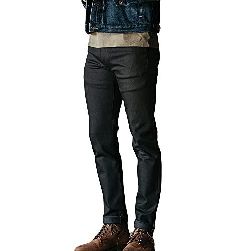 HIROSHI KATO Jeans Men's The Pen Slim Straight Raw...