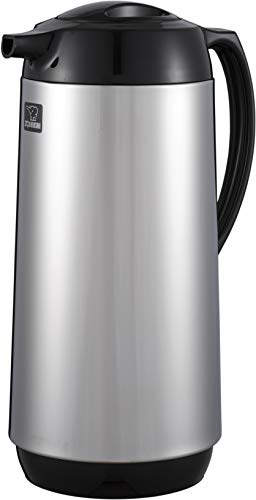 Zojirushi Thermal Serve Carafe, Made in Japan, 1.3-Liter, Polished Stainless