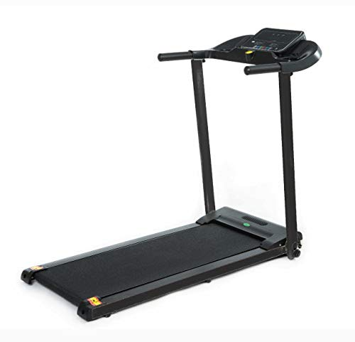 Buyer Empire Treadmill Motorised Running Belt Machine Digital Folding Incline Running and Walking Exercise Fitness Machine with LED Display Easy Control Home Gym