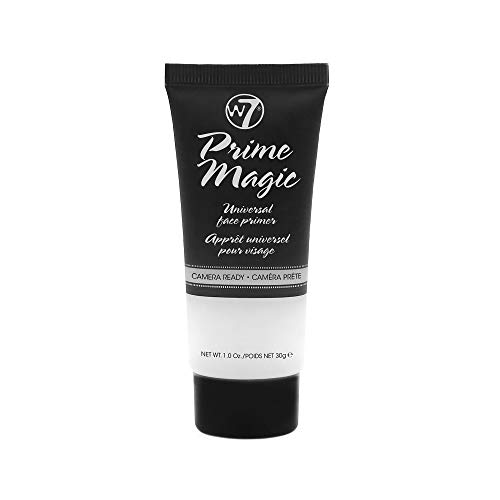 W7 | Face Primer | Prime Magic Clear Face Primer | Hydrating, Lightweight and Long-Lasting | Perfect For All Skin Types