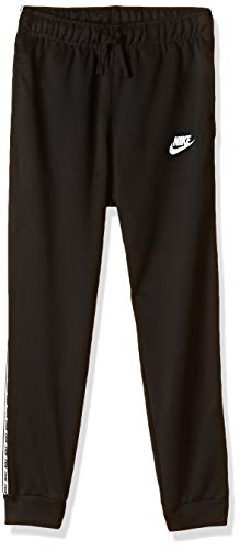 Nike Jungen B NSW Repeat Poly Pants, Black/White, M