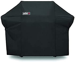 Weber 7108 Grill Cover for Weber Summit 400-Series Gas Grills, 7108 Premium Grill Cover Come with Storage Bag (66.8 X 26.8 X 47 inches)