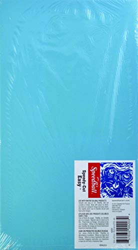 Speedball Art Products Bloc de Goma para Cortar fácilmente 15,24 cm x 27,94 cm