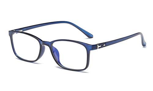 Premium Telaio TR90 Occhiali per Blocco Luce Azzurra per PC, Tablet, Smartphone,TV e Gaming. Eliminano stanchezza e irritazione visiva. Accessori per ufficio e studenti.