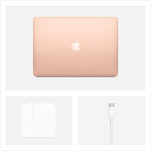 Apple MacBook Air (13-inch, 8GB RAM, 512GB SSD Storage) - Gold (Latest Model)