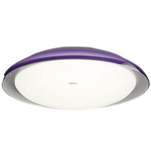 LU- Lumière de plafond LED ronde Living Room Child Color Bedroom Light (Couleur : Violet)