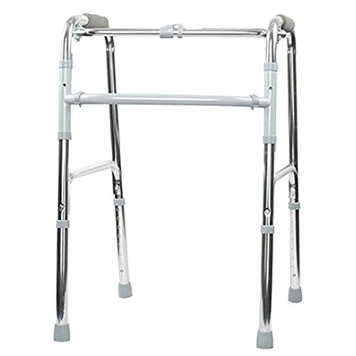 XCY Medizinische Instrumente Aluminiumlegierung Gehhilfe, Easy Folding Hilfs Walker