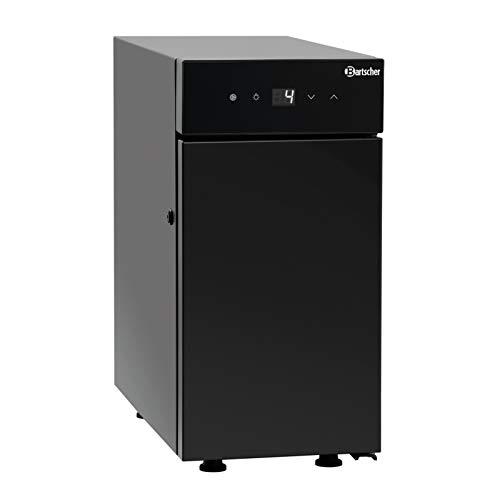 Bartscher Milch-Kühlschrank in schwarz KV6L