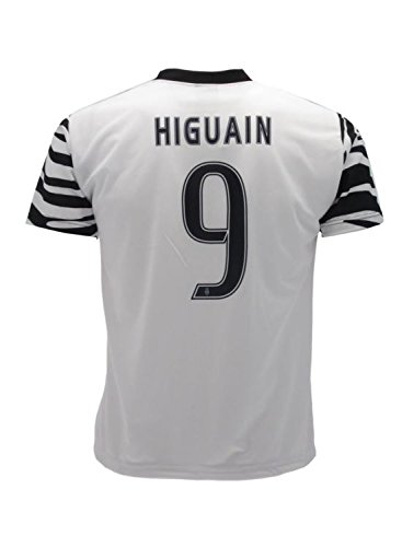 Camiseta de la Juventus Higuain 9, réplica autorizada 2016/2017, tamaño 2 años