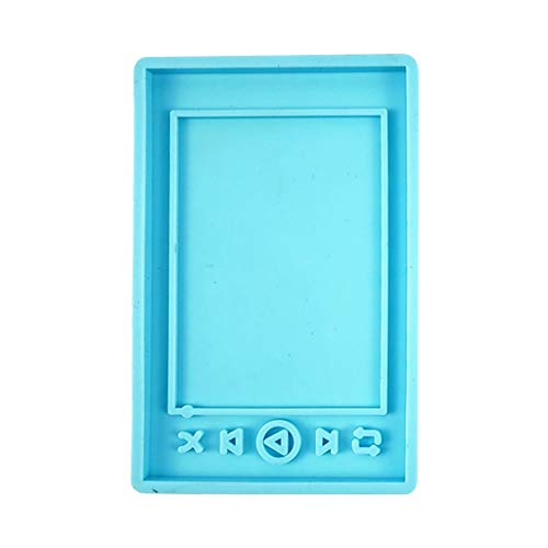 HELYZQ Epoxy Resin Mold MP3 Player Casting Silicone Mould DIY Craft Jewelry Making Tool