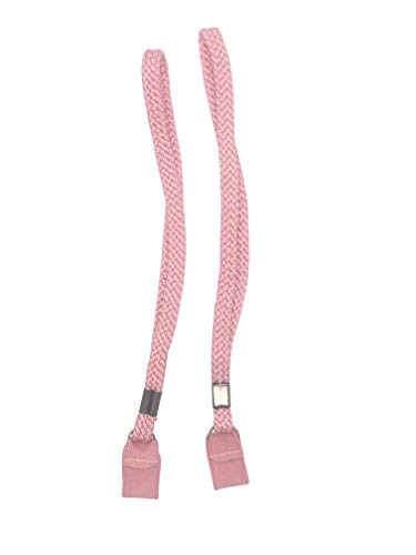 Pink Elastic Wrist Straps Two Pack