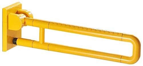 JIAHE115 veiligheidsbeugel voor badkamer, armleuning, inklapbaar, gele slee van roestvrij staal