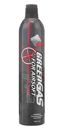 Puff Dino GreenGas Airsoft 600 ml.