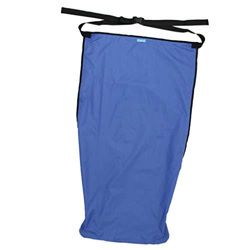 IPOTCH Plüschfutter Rollstuhlsack Schlupfsack Regenschutz Rollstuhlschlupfsack Rollstuhlsack - M
