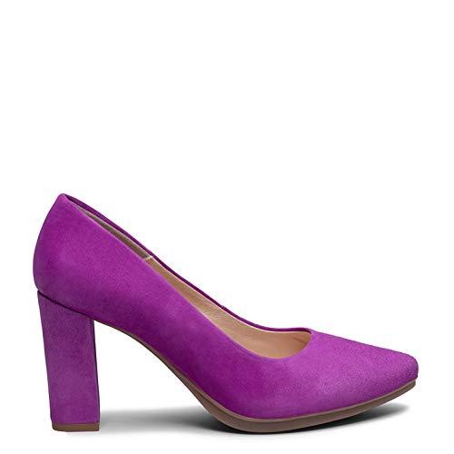 Zapatos miMaO. Zapatos de Piel Hechos en España. Zapatos de Tacón Alto. Salones de Mujer Elegantes. Zapatos Cómodos Altos con Plantilla Gota Ultra Confort Gel