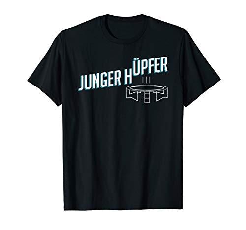 Junger Hüpfer Springen Trampolin T-Shirt