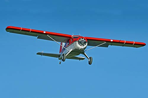FMS Beaver V2 RC Airplanes 2000mm (78') Wingspan with Flaps LED Water Plane (Without Float) PNP (No Radio, Battery, Charger)