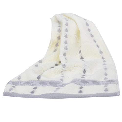 Huien Ouneed-handdoek Super absorberend zacht washandje Het bad Puur katoen Siege Back-woord Badhanddoek Gezichtsreinigers Handdoek Handdoeken, grijs