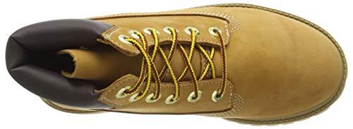 Timberland 6-Inch Waterproof, Kinder Stiefel, Gelb - 8