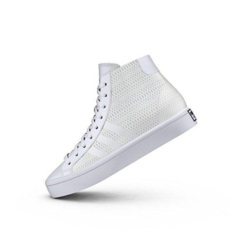 adidas - Zapatillas Altas Hombre Mujer Adultos Unisex, Color Blanco, Talla 44 EU