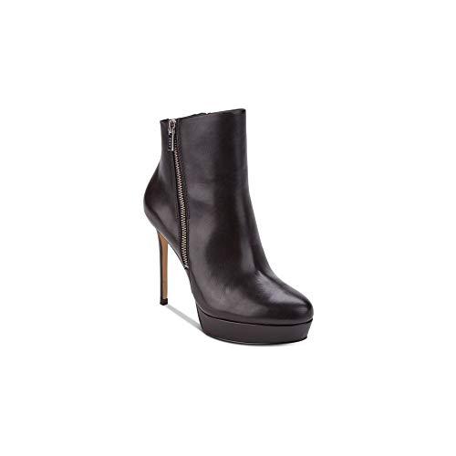 DKNY Frauen Jami Geschlossener Zeh Leder Fashion Stiefel Schwarz Groesse 10 US /41.5 EU
